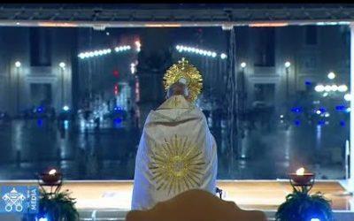 Bénédiction du pape François