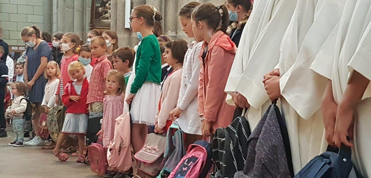 30 août, bénédiction cartables